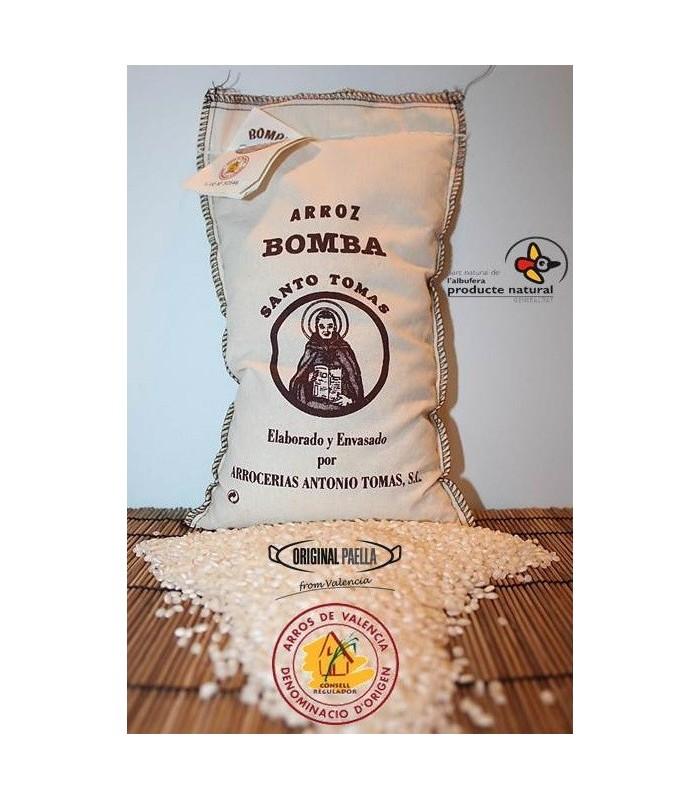 Saco arroz Bomba 1 Kg