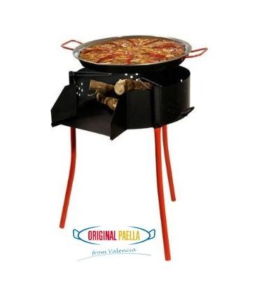 Multifonction Paella au feu de bois + Barbacue + Paravents